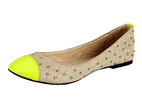 Heine - Best Connections Damen-Schuhe Ballerina Mehrfarbig