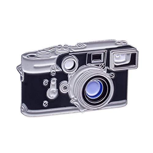 Offizielles exklusives Leica Leitz M3 M2 mit Summaron f/2.8 Objektiv mit Brille Entfernungsmesser Kamera Pin Badge