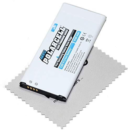 Ersatz Akku für Samsung Galaxy Note Edge (N915F) Batterie inkl. NFC-Antenne (entspricht Originalakku EB-BN915BBC) Polarcell mit mungoo Displayputztuch
