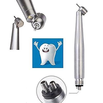 SoHome LED hand-piece 45 degree Surgical Hand Kit Air Turbine 4Holes