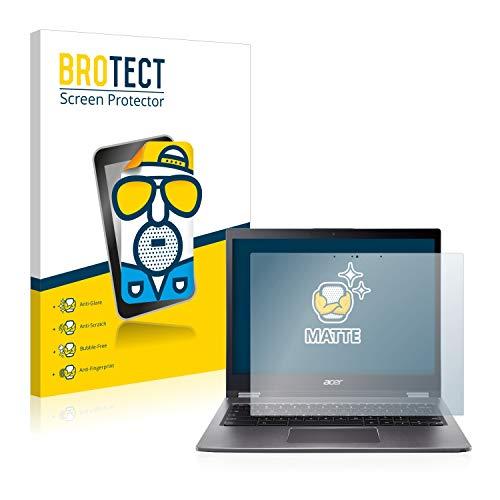 BROTECT Entspiegelungs-Schutzfolie kompatibel mit Acer Chromebook Spin 13 CP713 Bildschirmschutz-Folie Matt, Anti-Reflex, Anti-Fingerprint