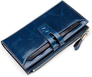 Fashion Women Wallets Genuine Leather Female Wallets with Phone Pocket Ladies Purse Hasp Women Purse Wallet Clutch Cartera Mujer