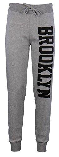 Damen-Jogginghose Brooklyn, Sweat-Hose, Größe 36-42 Gr. Large, S/GREY