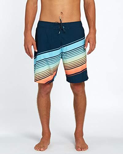BILLABONG Resistance LB 19, Pantalones Cortos Playa para Hombre, Hombre, Resistance LB 19, Menta, S