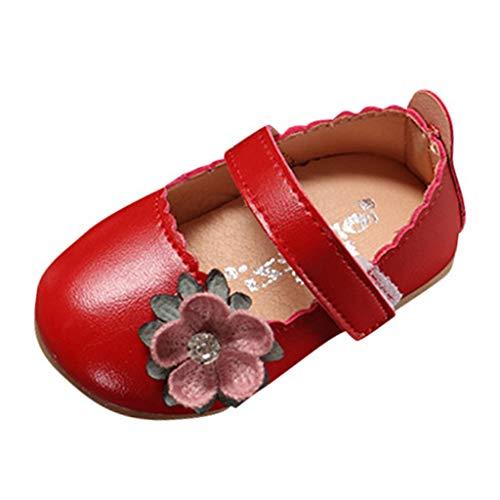 Chaussures Fond Souple Antidérapant de Bébé Unisexe Bébé Suède Chaussons en Cuir Doux Chaussures Bébé Mokassin chausseres Premiers Pas - Cuir - Souple