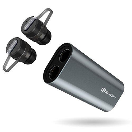 Rowkin Bit Charge Stereo with Earhooks: True Wireless ...