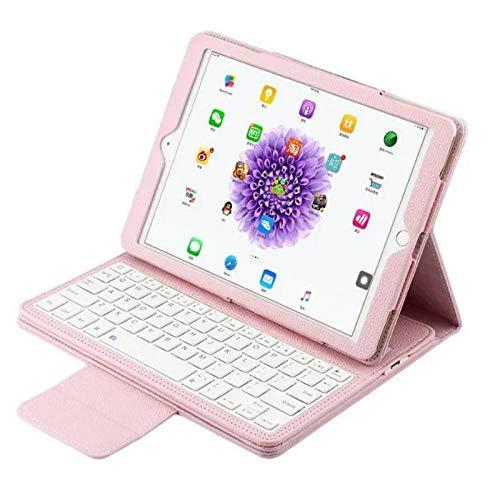 Funda de Teclado para iPad 2 3 4 Funda de Teclado extraíble para iPad 234 A1395 A1396 A1397 A1416 A1430 A1458 A1459 A1460 Funda de Teclado-Rosado_para iPad 7 8 10.2in