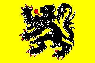 Vlaanderen Vlag van de Vlaamse Gemeenschap België 5'x3'
