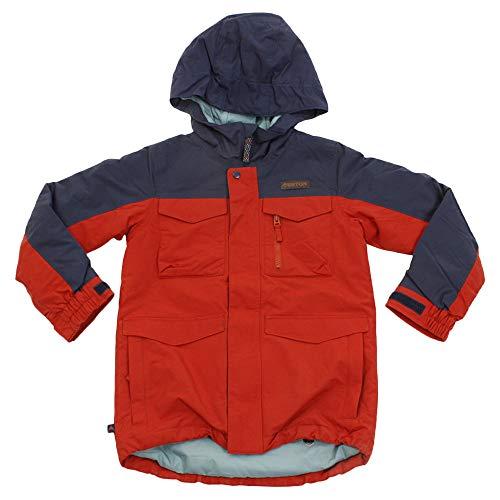 Burton Jungen Covert Snowboard Jacke, Bitters/Mood Indigo, L