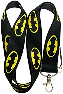 Batman Logo Lanyard Keychain ~Super Hero~