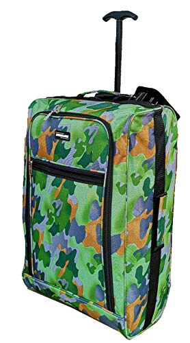 Hand Luggage Cabin Bag Trolley with Wheels Flight Bags Suit Case for...