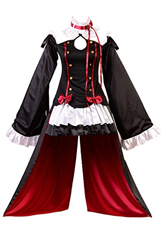 Seraph of The End Vampires Krul Tepes Uniform Cosplay Kostuem