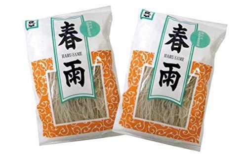 無添加 ムソー 国内産・春雨 100g×2個 ★ コンパクト ★ 国内産の有機馬鈴薯澱粉を使い、昔ながらの技法で仕上げた最高級のはるさめです。 ☆無漂白です。