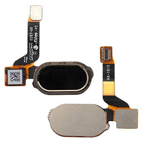 OnePlus Three 3 A3000 A3003 Flex Cable + Fingerprint Sensor & Home Button Black