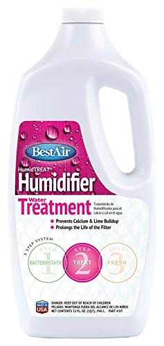 BestAir 1T, Humiditreat Extra Strength Humidifier Water Treatment (3, 32 oz)