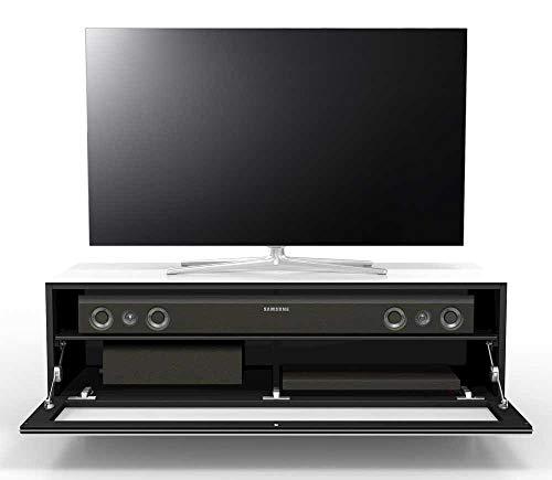 Spectral Just-Racks TV-Board JRL1101S-SNG | In Silber | 120 x 52.5 x 42.5 cm