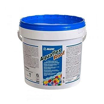 Foto di Membrana liquida per impermeabilizzazione in esterno 5kg Aquaflex Roof Mapei - Colore: GRIGIO