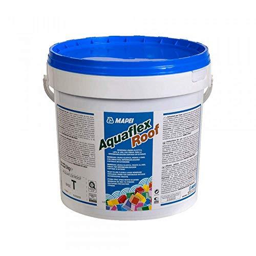 Membrana liquida per impermeabilizzazione in esterno 5kg Aquaflex Roof Mapei - Colore: GRIGIO