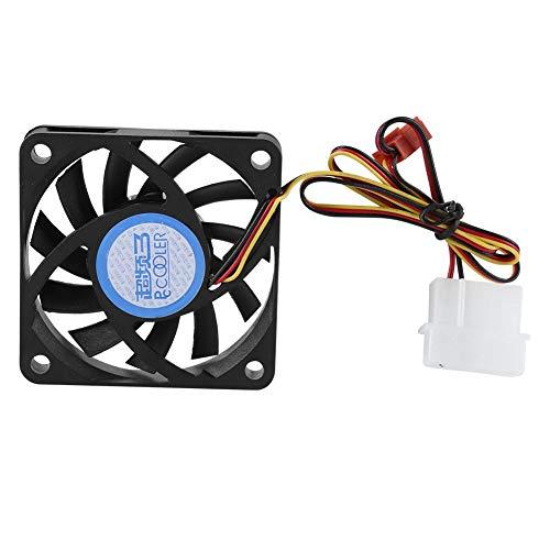 Vbestlife1 Ventilador de refrigeración, Ventilador de refrigeración de disipador de Calor silencioso de CPU 11 aspas, Ventilador de Carcasa de PC para refrigeración de Carcasa de Ordenador