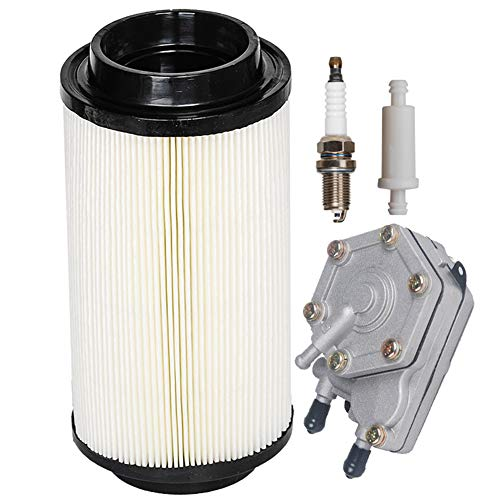 HIFROM Air Filter/Cleaner with Fuel Filter Fuel Pump Spark Plug Tune Up kit Replacement for Polaris Sportsman 400 500 550 600 700 ATV Quad Replace 7080595 7082101 2530009 2520227