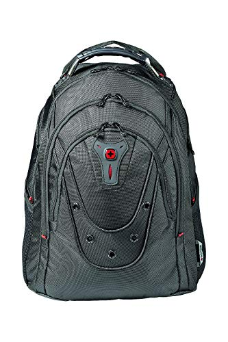 Wenger Ibex Slim Backpack 16 Inches 47 cm 25 Litres Black