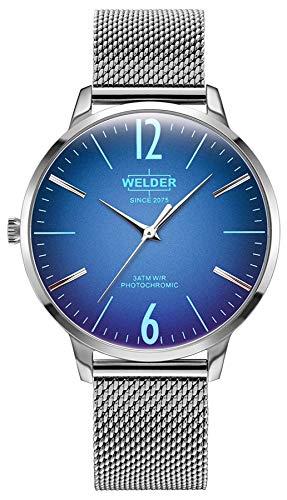 Welder Breezy Damen Uhr analog Quarzwerk mit Edelstahl Armband WRS620