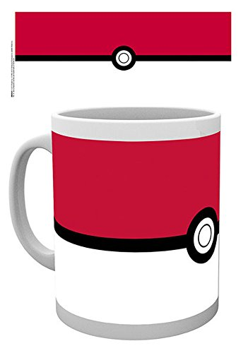 empireposter Pokemon - Pokeball - Keramik Tasse - Größe Ø8,5 H9,5cm