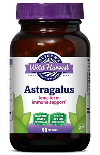 Oregon's Wild Harvest, Certified Organic Astragalus Capsules for...