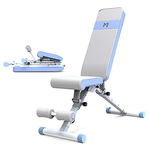 Great Deal! NYH Home Weight Bench, Folding Fitness Chair, Dumbbell Training Platform, Multi-Function...
