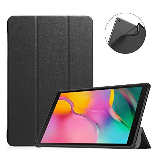 ProCase Galaxy Tab A 10.1 2019 (SM-T510 SM-T515) Custodia TPU, Ultra Sottile e Leggero Cover con Flessibile Morbido TPU Coperchio Posteriore per Galaxy Tab A 10.1-Nero