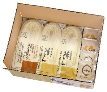 名古屋よしだ麺 半生めん・つゆ味みそ詰合せ10袋 184-10