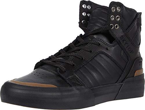 Supra Unisex-Erwachsene Skytop 77 Hohe Sneaker, Schwarz (Black-Black/Gum 073), 48.5 EU