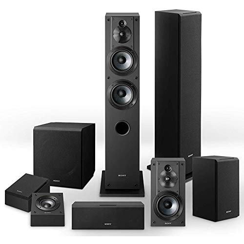 Sony Complete 8 Speaker System- SSCS3 (2), SSCS5, SSCS8, SACS9, SSCSE