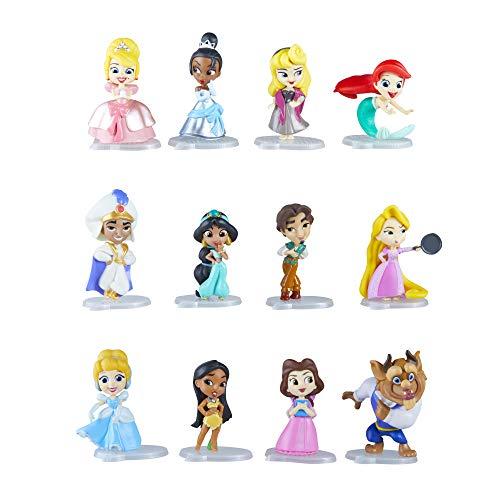 DISNEY PRINCESS E6279EU4 Disney Prinzessin 5 cm große Sammelfiguren, Puppen Überraschungsbox mit den beliebtesten Charakteren Comics, Serie 1