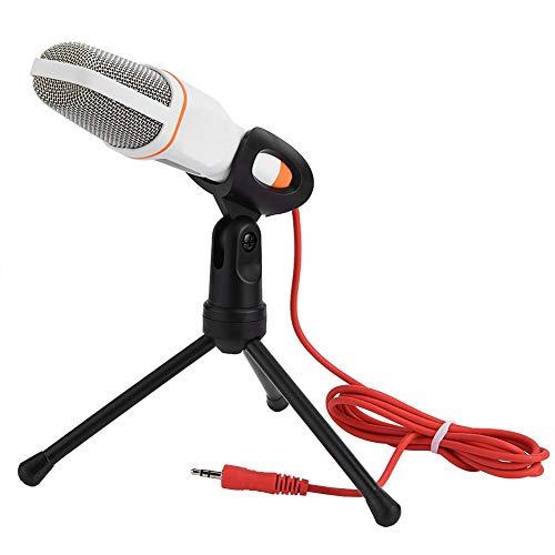 3,5 mm microfoon, geluidsarme condensatormicrofoon voor netwerkvideoconferenties voor alle soorten 3,5 mm-aansluiting…