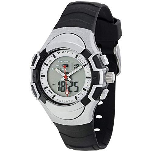 Marea Unisex kinder analoog-digitaal kwarts smartwatch polshorloge met rubber armband B35266/1