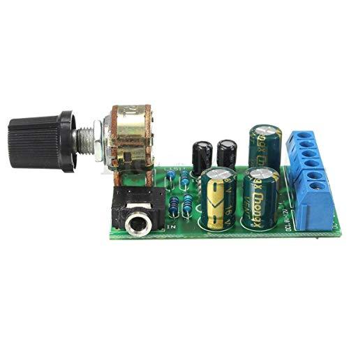 TOOGOO TDA2822M 2.0 Stereo Audio Verstaerkerplatine Dual Channel AMP AUX Verstaerkerplatine Modul DC 1.8-12V Fuer Arduino