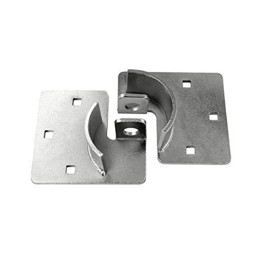 321 Locks Van Locks Heavy Duty Hasp Padlock - Cargo Lock for Trailer, RV, Van, Vending Machines and Storage Buildings (Lock & Hasp) (CT-10) (Hasp)