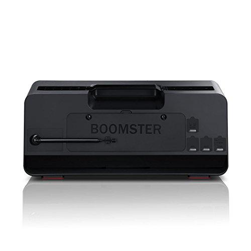 Teufel BOOMSTER Altavoz negro Transmisión de música inalámbrica Bluetooth BT Radio DAB+