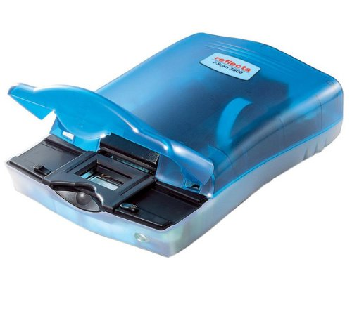 Reflecta iScan 3600 Dia-Scanner (36 x 24 mm, 48 Bit, Film/Slide Scanner, CCD, USB 1.1, 256 MB)