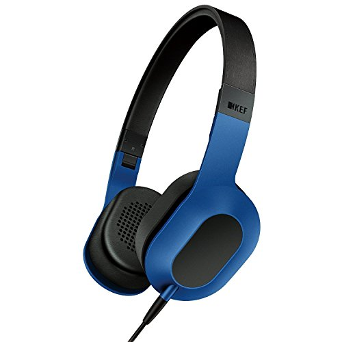 KEF M400 Design Kopfhörer racing blau