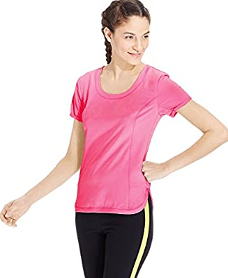 Calvin Klein Performance Women's Racerback Cutout Shirt