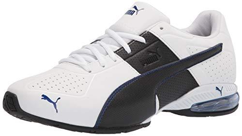PUMA Cell Surin 2, Zapatillas para Correr Hombre, White Black Elektro Blue, 40 EU