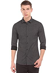 Arrow New York Mens Printed Slim Fit Formal Shirt