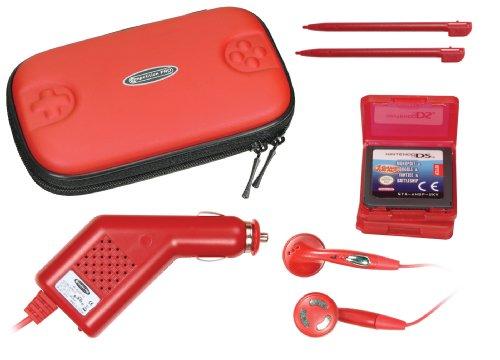 Pack d'accessoires rouge pour DS
