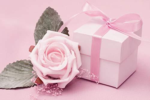 YDYHYANG Adulte Puzzle 500 Pièces Coffret Rose Et Une Rose Jouets pour Enfants Décoration De La Maison Cadeaux d'art 52x38cm