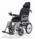 Z-SGLY Médical portatif de Fauteuil Roulant électrique léger, soutient 265 Livres, pour Les Personnes handicapées et...
