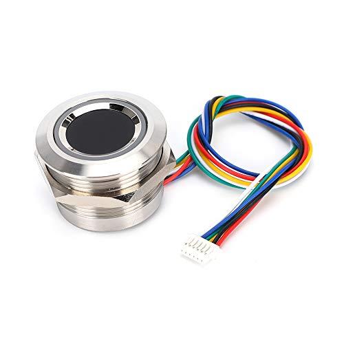 【ó 】 Escáner de Huellas Dactilares Capacitivo de Alta tasa de reconocimiento, módulo Capacitivo de Huellas Dactilares, Sensor de píxel Circular 192X192 R503