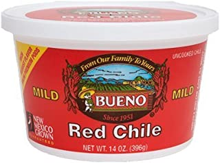 Red Chile Puree, MILD, 14oz. Tubs, 6 Pack, Frozen