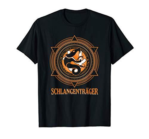 Schlangenträger Ophiuchus 13.Sternzeichen Tierkreis Geschenk T-Shirt